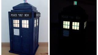 DIY Tardis lamp /Doctor Who