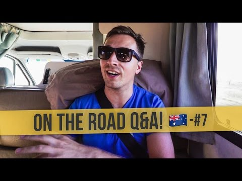 ON THE ROAD Q&A   🇦🇺 Australia Daily Vlog #7
