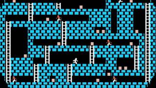 Apple II Game: Lode Runner (1983 Brøderbund Software) [Longplay]