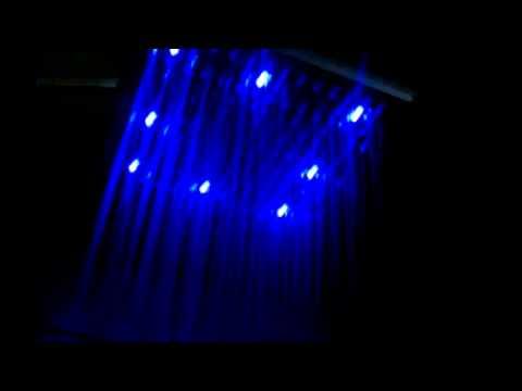 LightInTheBox 10  LED Rainfall Shower HeadLightInTheBox 10  LED Rainfall Shower Head   YouTube. Tropical Rain Shower Head. Home Design Ideas