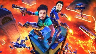 THE FLOOR IS LAVA CHALLENGE con Dlarzz - Fortnite ITA