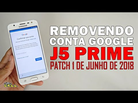 Removendo Conta Google do Samsung Galaxy J5 Prime (Patch 2018) #UTICell