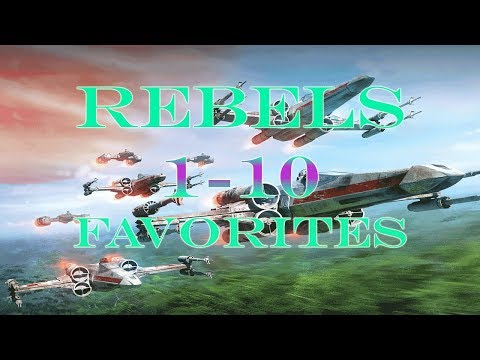 Ranking the X-Wing Ships - Rebels Top 10