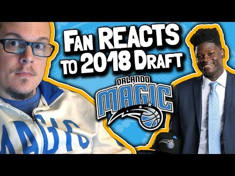 "Orlando Magic Fan REACTS to 2018 NBA Draft // Magic Draft Mohamed ""MO"" Bamba (June 21, 2018)"