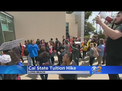 CSU Board Of Trustees Approves 5 Percent Tuition Hike; Students Protest