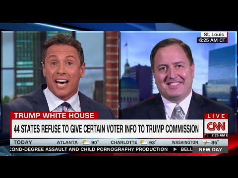 Chris Cuomo hammers Missouri Secretary of State on baseless voter fraud claims