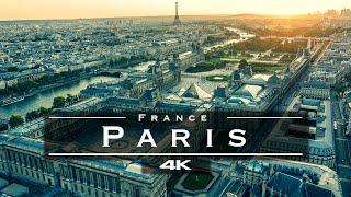 Paris, France 🇫🇷 - by drone [4K]