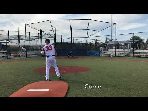 2018 RHP 3B Vinny Morales Massapequa HS, NY   College Baseball Recruit