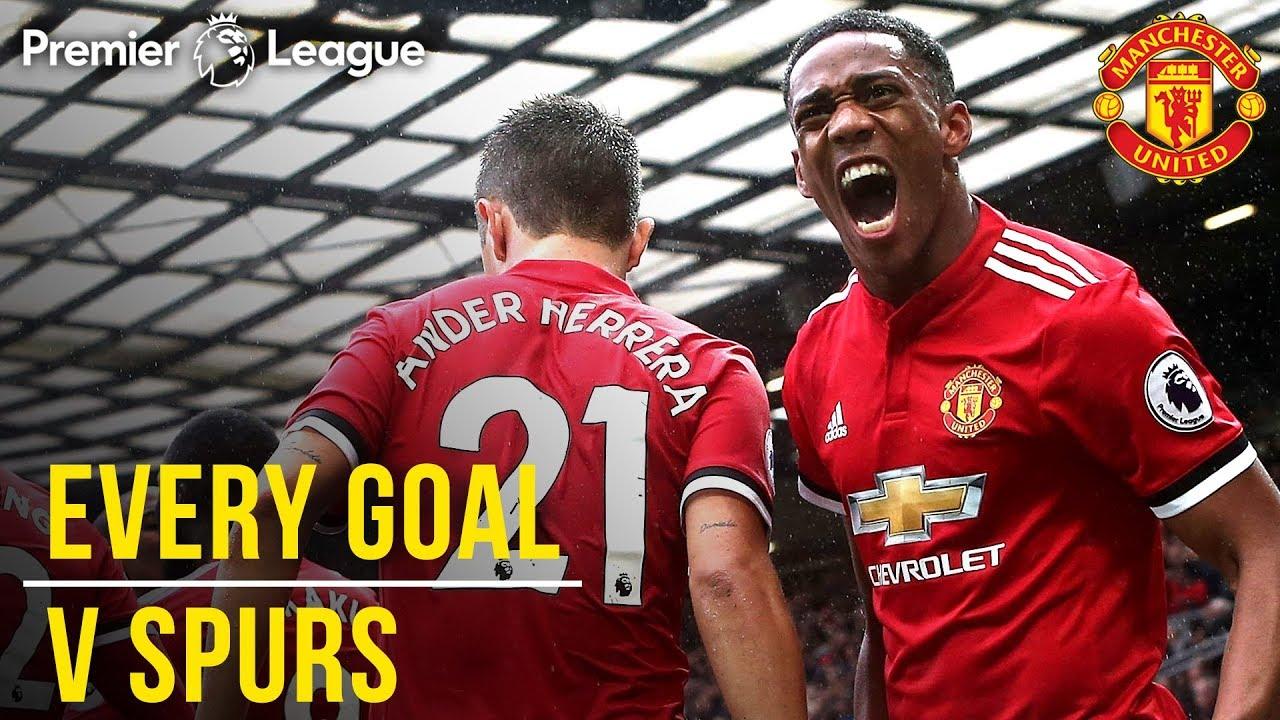 Download EVERY Premier League Goal v Spurs at Old Trafford! | Manchester United v Tottenham Hotspur