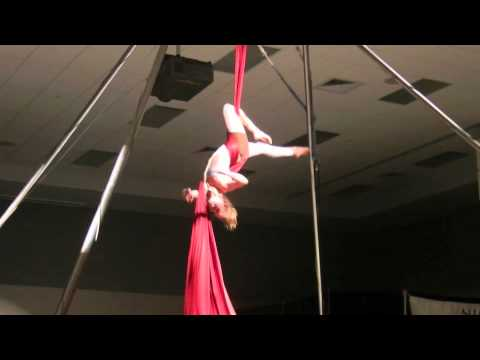 a Nimble Arts Circus performance in 2012