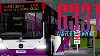 SBS Transit ROBLOX Hyperlapses - Service 633T