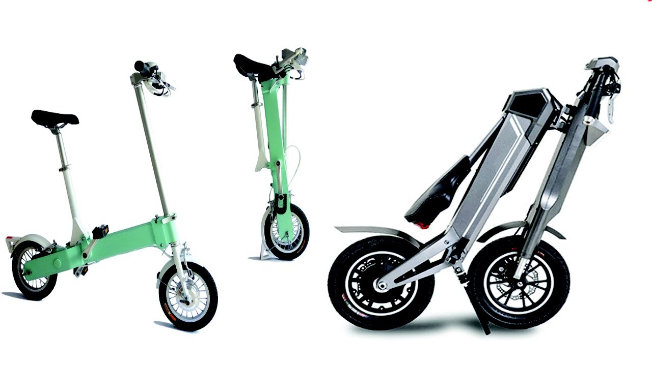 5 fastest folding electric scooter e bike for adults youtube. Black Bedroom Furniture Sets. Home Design Ideas