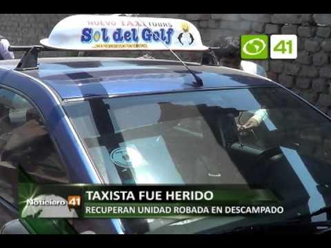SERENAZGO VICTOR LARCO ASALTAN Y HIEREN A TAXISTA 09 SET OZONO TELEVISION CANAL 41