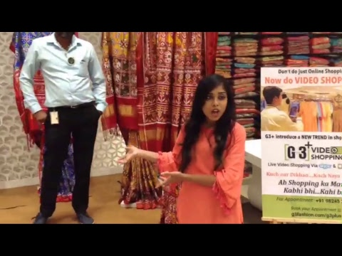 Patan Patola Saree Collection at G3 plus LIVE