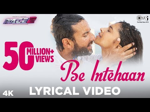 Be Intehaan  Bollywood Sing Along  Race 2  Atif Aslam & Sunidhi Chauhan