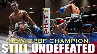 RAQUINEL DEFEATS NAKAYAMA FOR THE OPBF FLYWEIGHT TITLE IN JAPAN