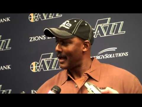 Karl Malone interview with the Utah Media