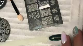 Дизайн ногтей/стемпинг/втирка