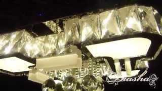 Потолочная люстра со встроенными светодиодными лампами 3521(Светодиодная потолочная люстра с пультом дистанционного управления. Цена, характеристики и более подробно..., 2015-11-22T06:31:30.000Z)