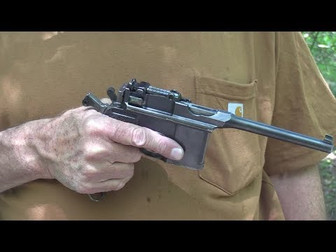 Mauser C96 Woods Walk