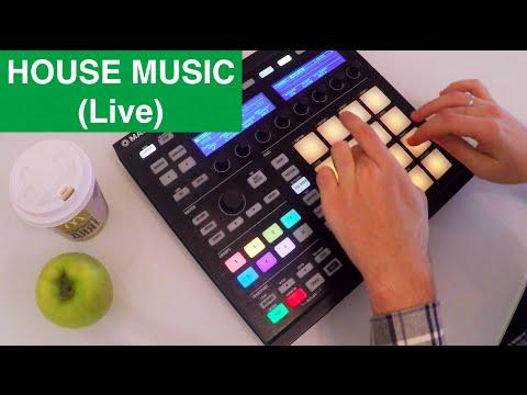 HOUSE MUSIC (live making) - NI MASCHINE performance