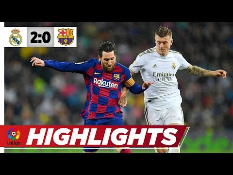 Kroos leitet Reals Clásico-Party ein | Real Madrid - Barcelona 2:0 | Highlights | LaLiga