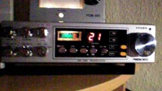 President ADAMS CB Radio with FM & 120 Channels