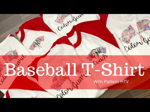 Baseball T-shirts With HTV