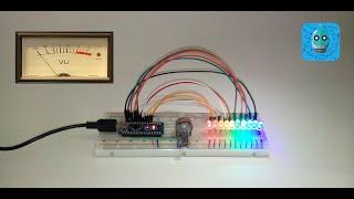 Como Hacer un Vumetro (Indicador de Voltage Con LEDs y Arduino)(Redes Sociales Facebook https://www.facebook.com/profile.php?id=100012136427262 Twitter https://twitter.com/Mac_Olinks Pinterest https://es.pinterest.com ., 2016-06-25T23:04:55.000Z)