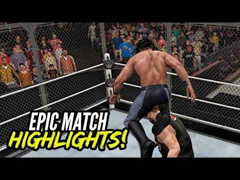 WWE 2K17 Hell In A Cell 2016 Kevin Owens vs. Seth Rollins | EMH Series!