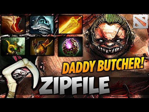 ZIP FILE PUDGE [Daddy Butcher!] Highlights Dota 2 thumbnail