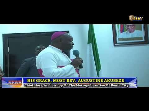 Marian Year celebration: Catholic Bishops visit Edo State Gov.