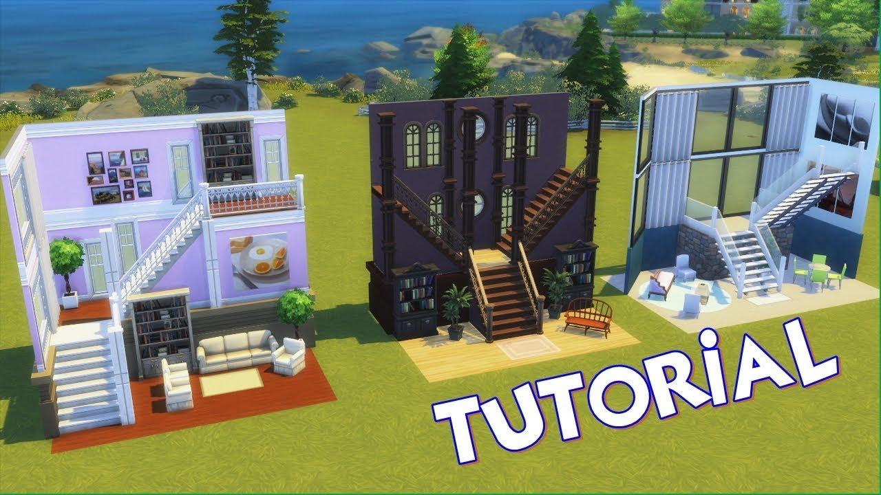 Novas Escadas Tutorial The Sims 4 Youtube