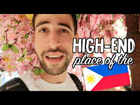 Japanese CHERRY BLOSSOM now in PHILIPPINES!! | HIGH END Malls of MAKATI (Financial District)