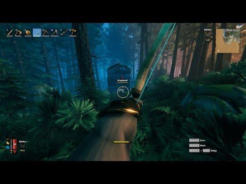 Valheim First-Person Mod Gameplay
