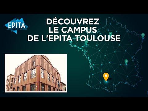 Découvrez le Campus de l'EPITA Toulouse