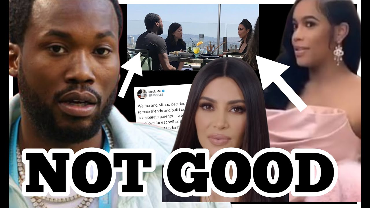 MEEK MILL BREAKS UP? MILANO THROWS HEAVY SHADE.
