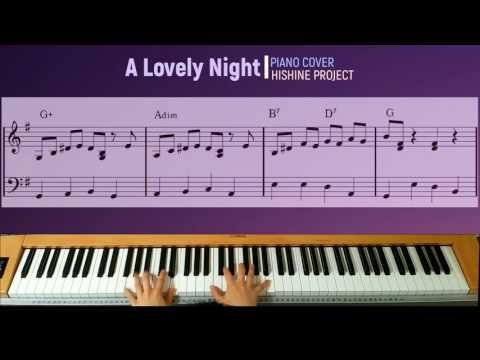 A Lovely Night From La La Land Piano  Hishine Project With Sheet Music Score