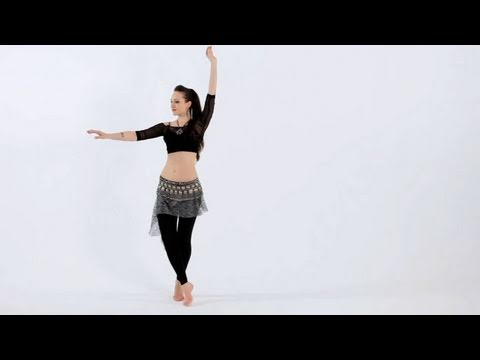 How to Do a Traveling Twist | Belly Dancing