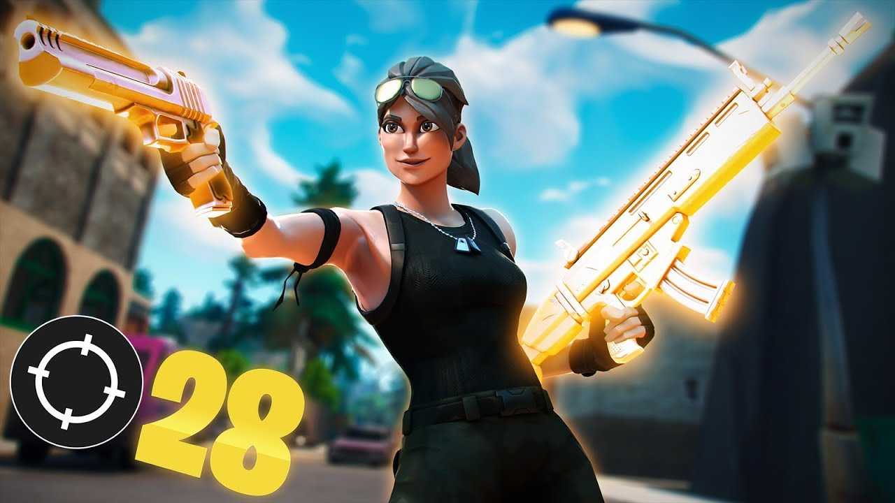 Solid Gold Is Back 28 KILL SOLO SQUADS WIN Fortnite Battle Royale YouTube