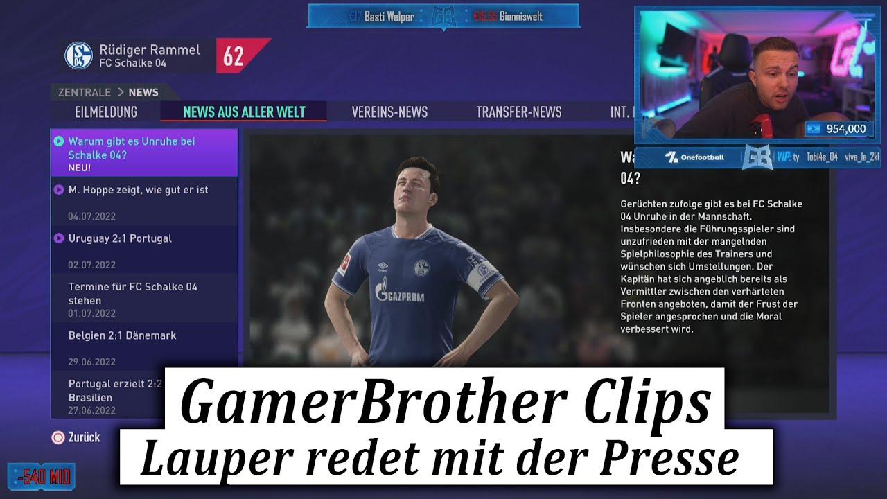 Sandro Lauper spricht heimlich mit der Presse 😂🤣   GamerBrother Clips