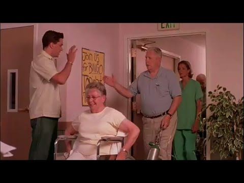 fun at the senior center from the movie Singles Ward