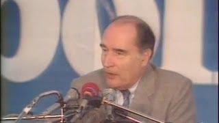 Elysée 81 : François Mitterrand à Clermont Ferrand