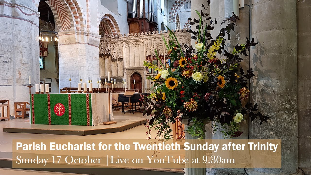 Download Parish Eucharist for the Twentieth Sunday after Trinity | St Albans Cathedral