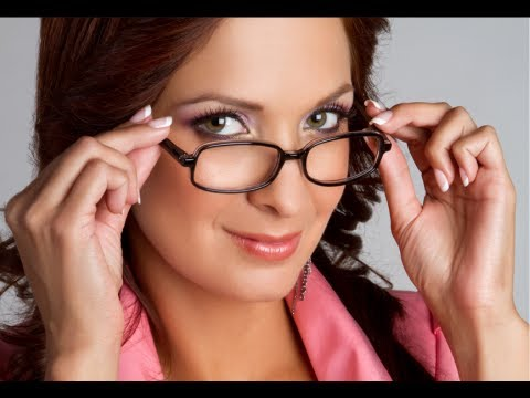 Glasses Frames That Make You Look Younger : How to Look Good in Glasses - YouTube