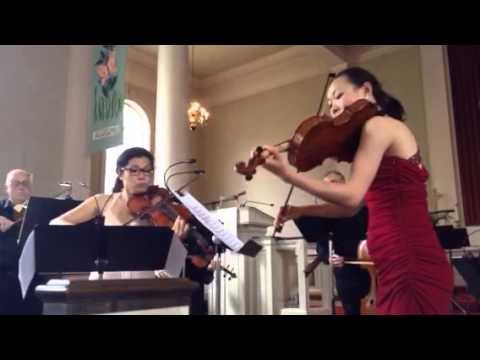 Bach Brandenburg Concerto no 6 Wenting Kang, Ayane Kozasa a