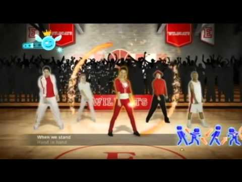 Just Dance Disney Party  9  Cast of High School Musical   We're All in This Together Full Song