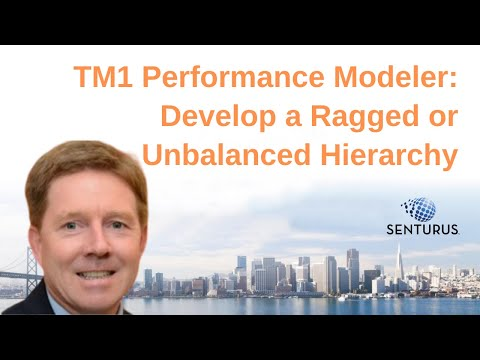 TM1 Performance Modeler: Develop a Ragged or Unbalanced Hierarchy