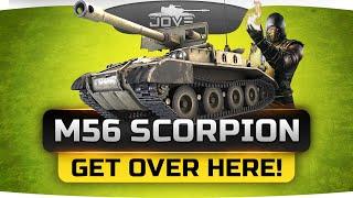 GET OVER HERE! (Обзор новой прем-ПТ M56 Scorpion)