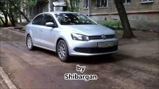 Volkswagen Polo sedan тест вместимость грузоподъемность